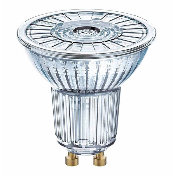 OSRAM LED SUPERSTAR 8,3-W-GU10-LED-Lampe, neutralweiß, dimmbar, mit Glas-Reflektor