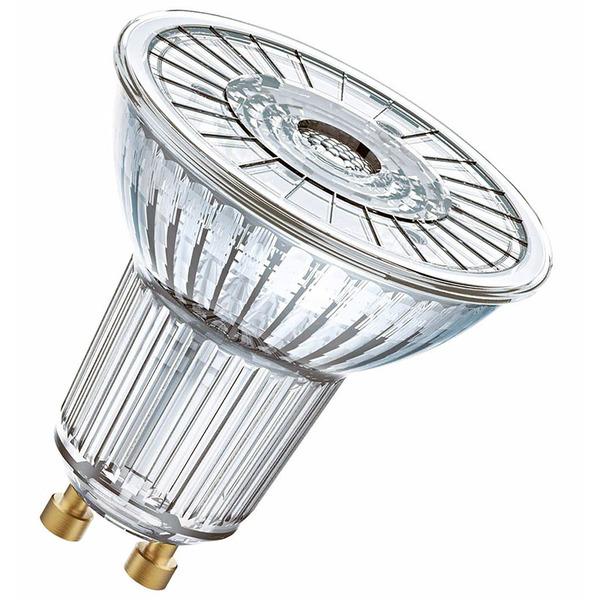 OSRAM LED SUPERSTAR 3,7-W-GU10-LED-Lampe, warmweiß, dimmbar, mit Glas-Reflektor