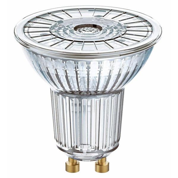 OSRAM LED SUPERSTAR 3,7-W-GU10-LED-Lampe, neutralweiß, dimmbar, mit Glas-Reflektor