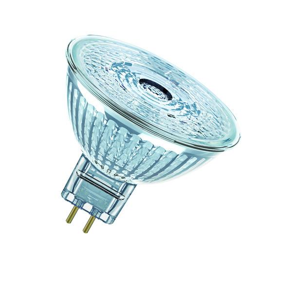 OSRAM LED STAR 8-W-GU5,3-LED-Lampe mit Glasreflektor, warmweiß, 12 V
