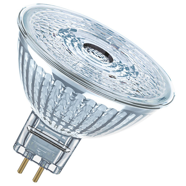 OSRAM LED STAR 3,8-W-GU5,3-LED-Lampe mit Glasreflektor, warmweiß, 12 V