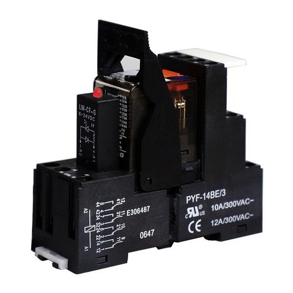 Relais, 24 V, 4 Wechsler, SHC243SD24R01
