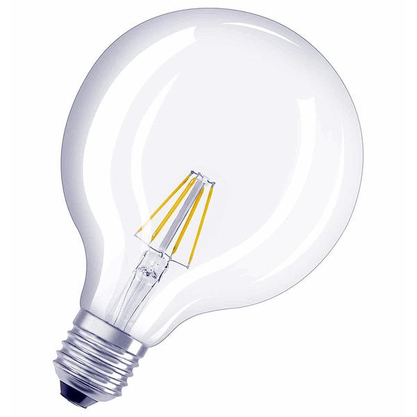 OSRAM LED RETRO 6,5-W-Globe-LED-Lampe E27, warmweiß