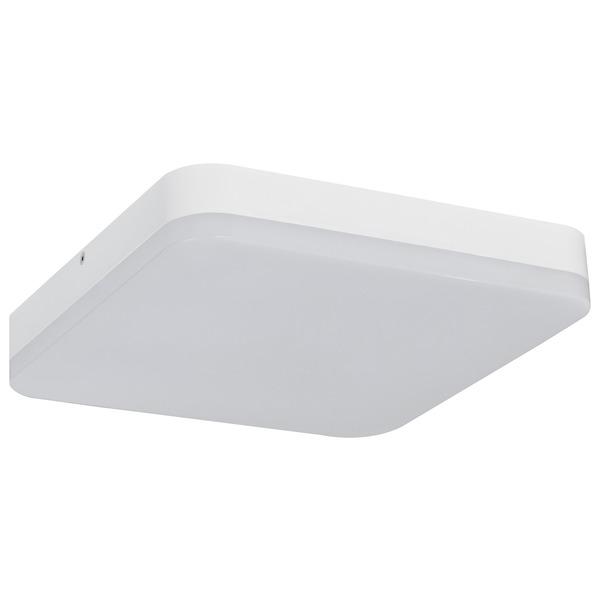 Müller Licht 25-W-LED-Deckenleuchte Office Square Sensor mit HF-Bewegungsmelder, warmweiß