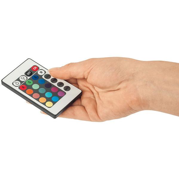 ELV 1-m-RGB-LED-Streifen flexibel mit USB-Anschluss und IR-Fernbedienung