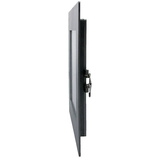 HEITRONIC 11-W-LED-Panel Toulouse, Einbaumaß 170x170 mm, Einbautiefe 20 mm, warmweiß, dimmbar, IP44