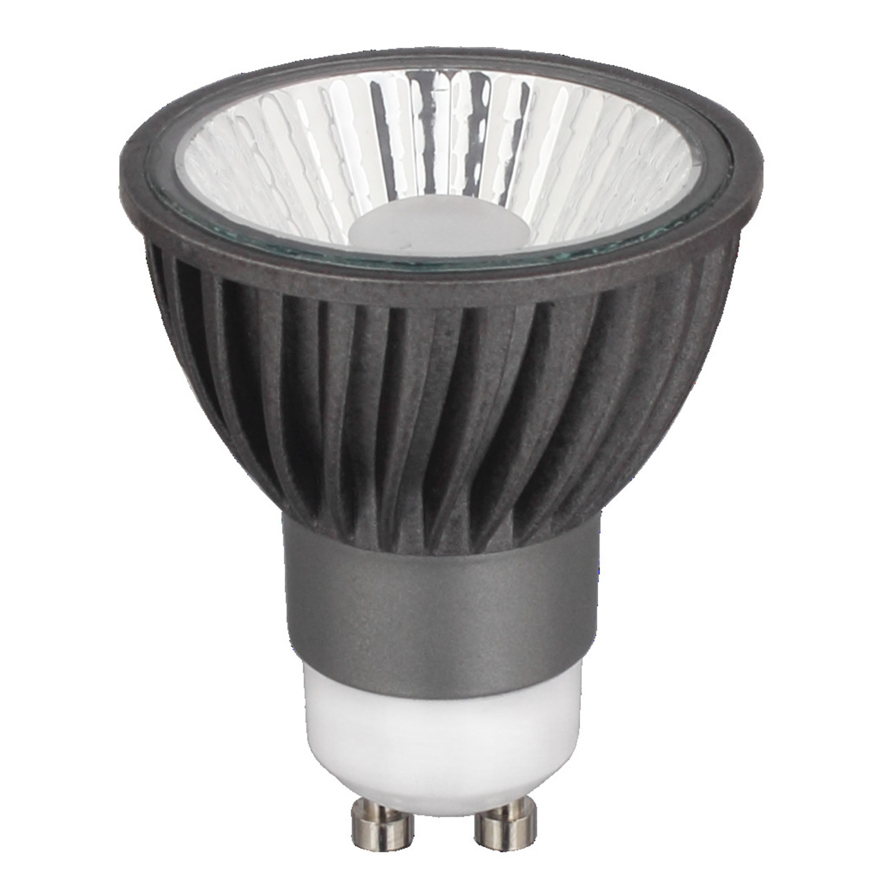 CV-Lighting HALED III 6-W-GU10-LED-Lampe- warmweiss (3000 K)- dimmbar- 36-
