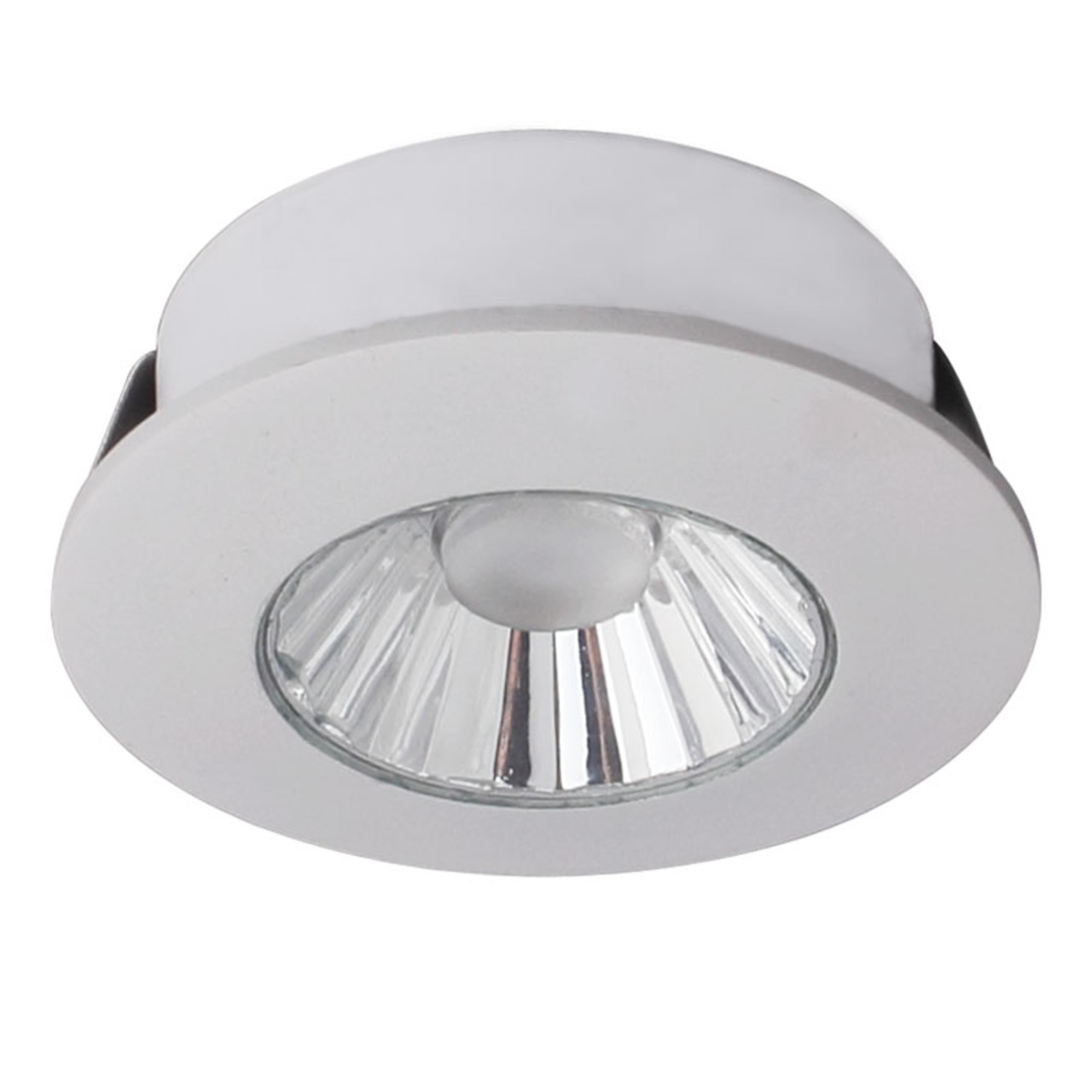 CV-Lighting 4-W-LED-Downlight- warmweiss- sehr gute Farbwiedergabe- 36- weiss- IP20