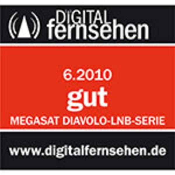 Megasat Single-LNB Diavolo, 1 Teilnehmer, 60 dB