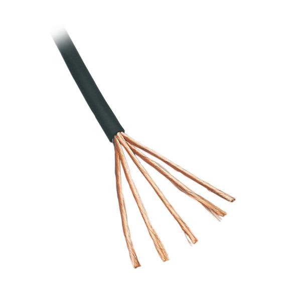 BKL Electronic NF-Audiokabel mit Einzelabschirmung, Querschnitt: 2 x 0,10mm², 5m Ring