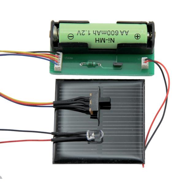 """SOL-Expert Solar-Beleuchtungs-Bausatz """"EasyLight"""""""