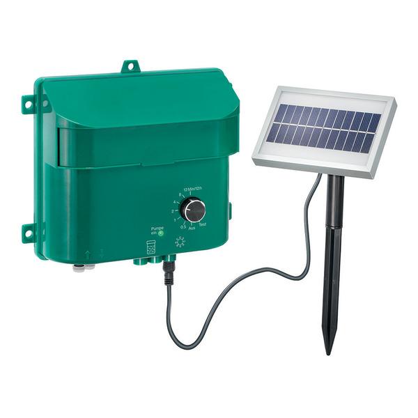 esotec Water Drops Solar-Bewässerungssystem mit 15 Tropfstellen, Akkubetrieb