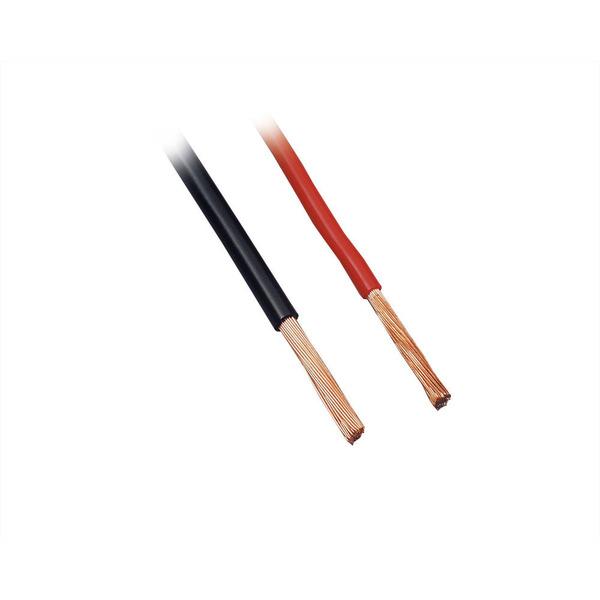 BKL Electronic FLRY Fahrzeugleitung, Ø 2,20 mm / 3,00 mm² (1 x 2,50 mm²), rot, 100m Ring