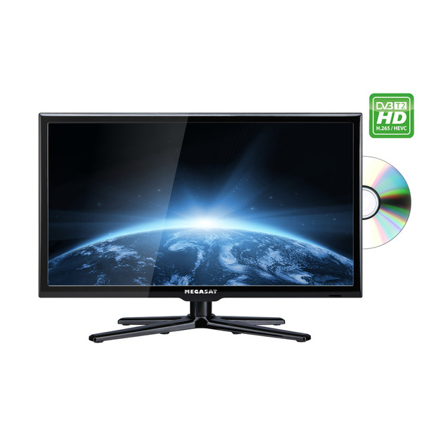 Megasat Camping-LED-TV Royal Line II 19 Deluxe, 47 cm, Triple-Tuner, DVD, Bluetooth, H.265/HEVC