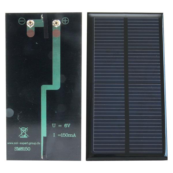 SOL-Expert Solarzelle SM6150, vergossen