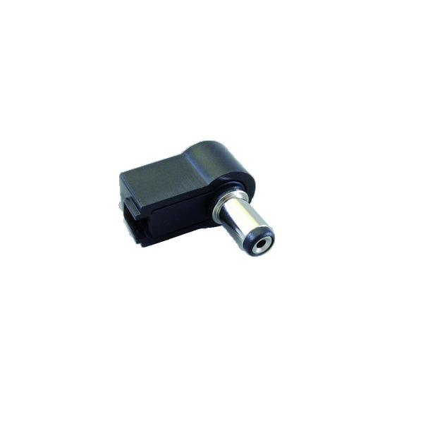 BKL Electronic DC-Hohlstecker, gewinkelte Ausführung, Innendurchmesser 2,10 mm