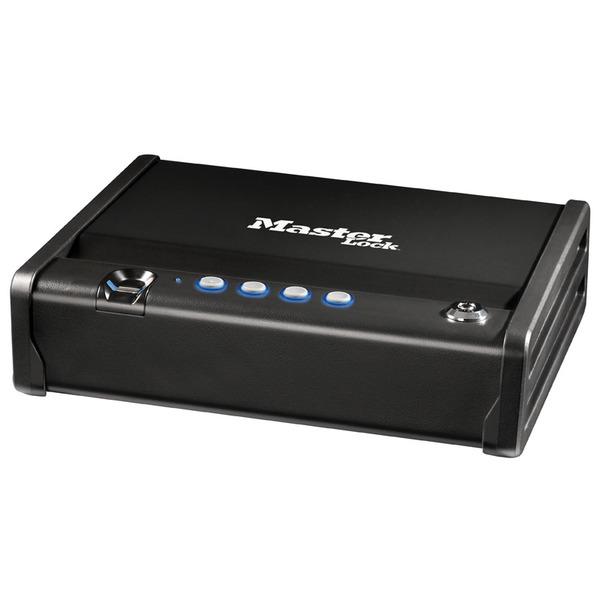 Master Lock Tresor MLD08EB mit Elektronikschloss und Fingerabdruckerkennung