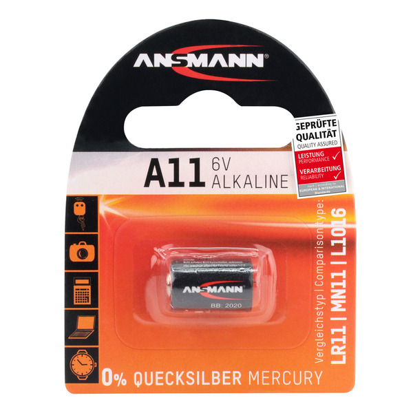 Ansmann Alkaline-Batterie Typ 11A, 6 V
