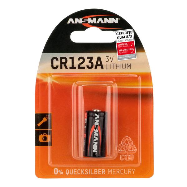 Ansmann Foto-Lithium-Batterie CR123A
