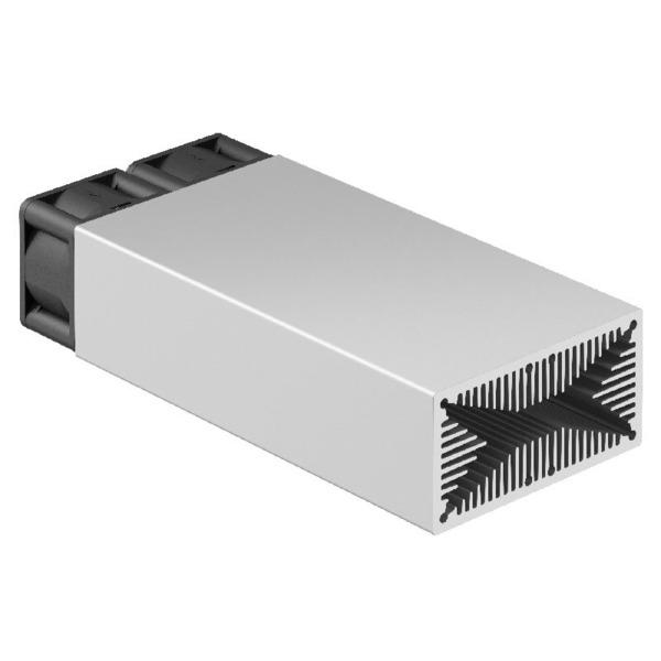 Fischer Elektronik Lüfteraggregat rechteckiger Querschnitt LAM4D 50 mm 12 V