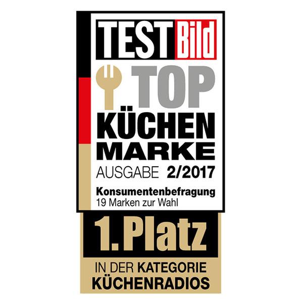 Soundmaster Küchen-/Unterbauradio UR2170SI mit UKW/DAB+, CD und USB-Anschluss, silber