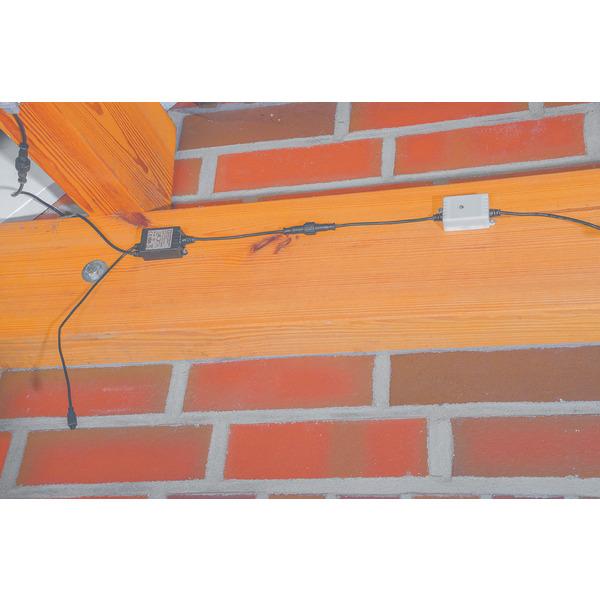 ELV 5-m-Outdoor-RGB-LED-Streifen mit Dämmerungssensor und Fernbedienung, IP44