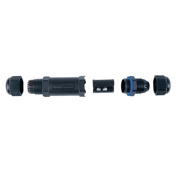 HEITRONIC 3pol. Kabelverbinder IP68, 230 V