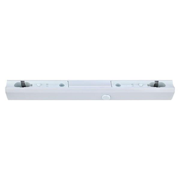 LEDmaxx Fassung für Linestra Linienlampen mit 2 Sockel S14s, 100 cm, weiß