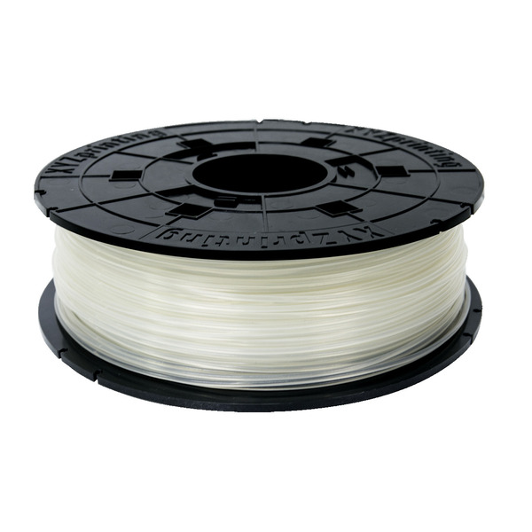 XYZprinting PLA-Filament für da Vinci Mini W, W+ und Junior 2.0 Mix, 1,75 mm, 600 g, transparent