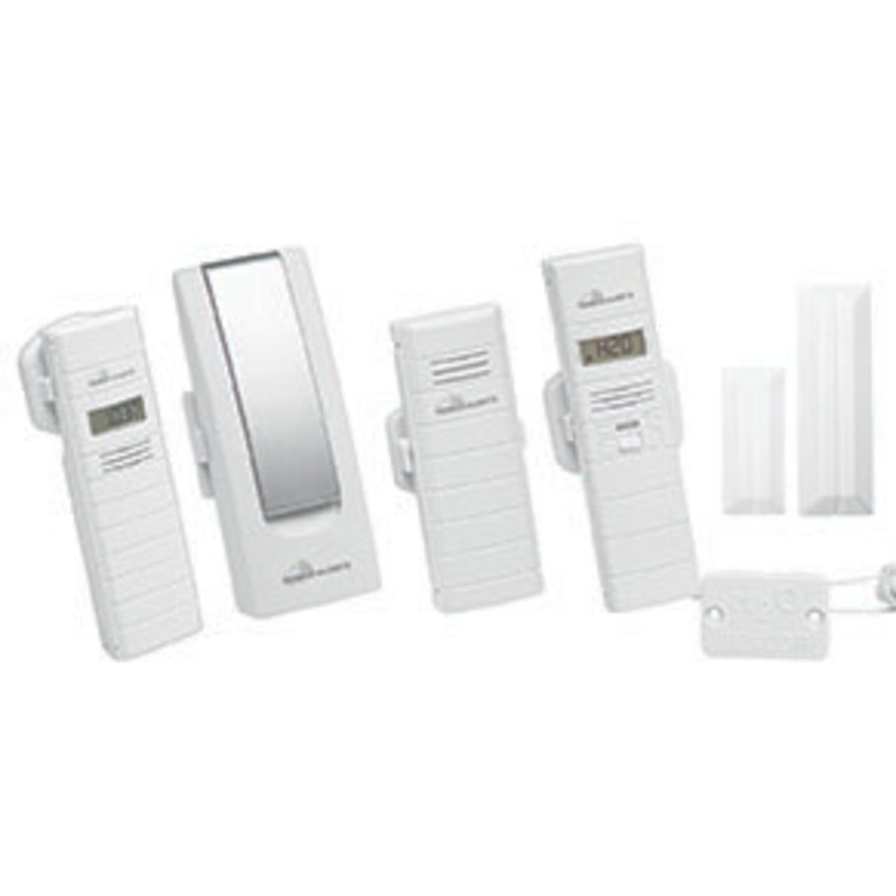 ELV Mobile Alerts Wetterset (Gateway- Temperatursensor- 2x Thermo-Hygrosensor- Fensterkontakt)