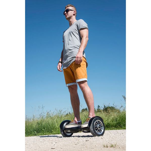 "hama Balance Scooter ""Outdoor Cruiser"", 10"", Schwarz"