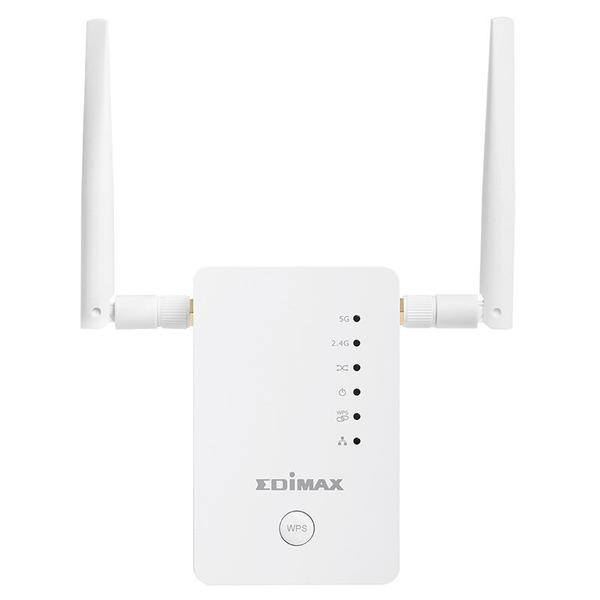 EDIMAX WLAN ac Mesh Repeater Set RE11, 1200 Mbit/s, 2x abnehmbare Antennen, Roaming Kit (2 Stück)