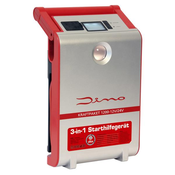 Dino Kraftpaket Starthilfegerät 12/24 V, 1200 A, 30.000 mAh