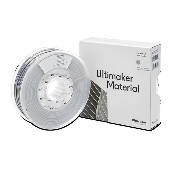 Ultimaker 3 PLA-Filament, 2,85 mm, 750 g, silber-metallic