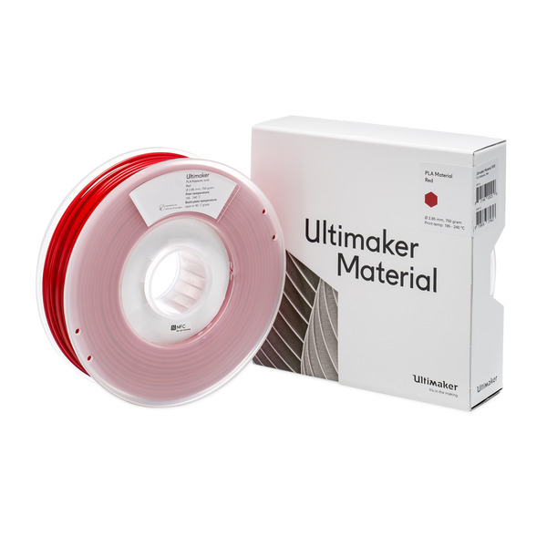 Ultimaker 3 PLA-Filament, 2,85 mm, 750 g, rot