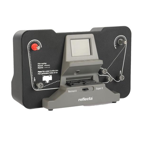 reflecta Film-Scanner Super 8 / Normal-8, speichert auf SD-Karte, 6,1-cm-Vorschaudisplay