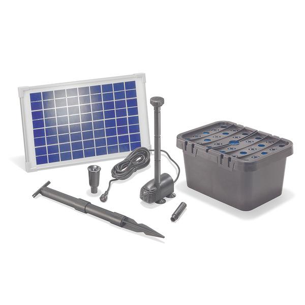 esotec Solar-Teichfilter-Set mit Sprinkler