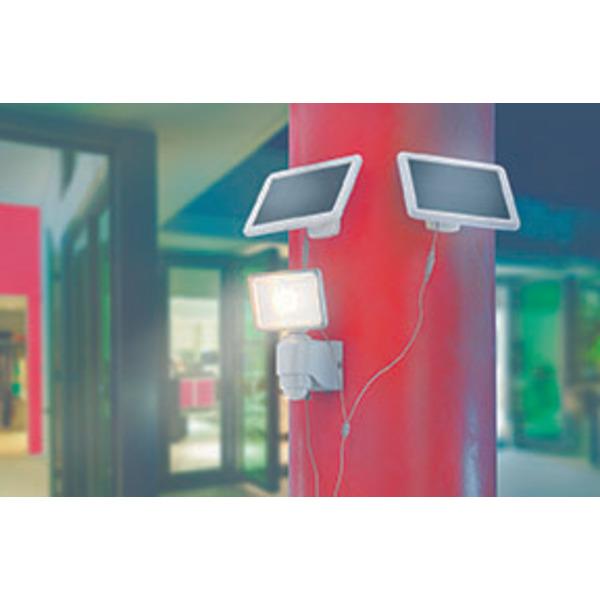 esotec Zusatz-Solarpanel für Solar-LED-Fluter