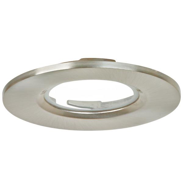 Aurora Abdeckring satin/nickel für Aurora m7-LED-Downlight, 78 mm