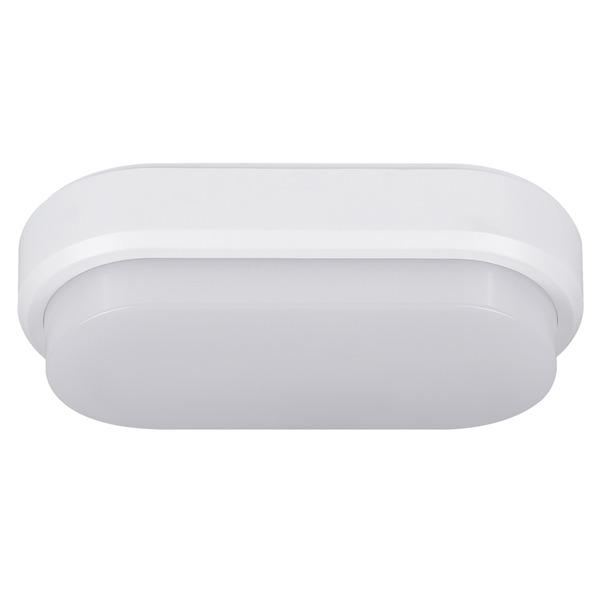 Müller Licht 9-W-Oval-LED-Decken-/Wandleuchte mit HF-Bewegungssensor, neutralweiß