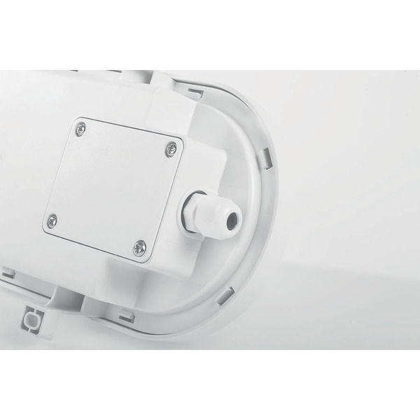 ELV 12-W-LED-Deckenleuchte, oval, IP54