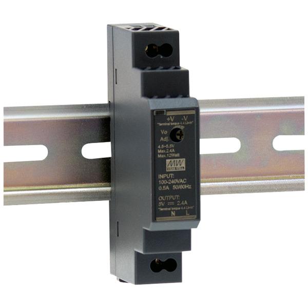 Mean Well Hutschienennetzteil 160 HDR-15-24 24 V, 0,63 A, 15 W, für Smart Home und Haussteuerung
