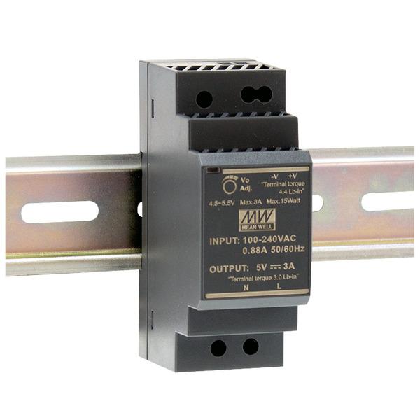 Mean Well Hutschienennetzteil 96 HDR-30-24 24 V, 1,5 A, 36 W, für Smart Home und Haussteuerung
