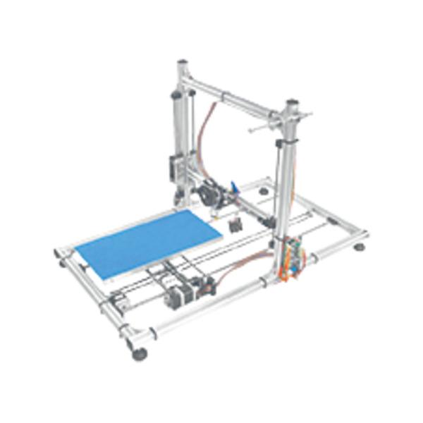 Velleman 40x20-cm-Heizbett Erweiterungsset K8206 für 3D-Drucker K8200