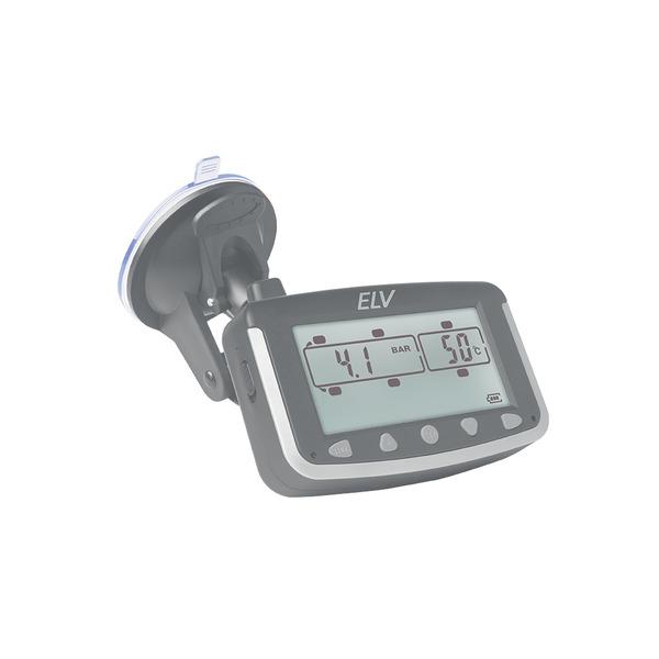 ELV EK215 Reifendruckkontrollsystem für Wohnmobile und Transporter, erweiterbar, mit 4 Sensoren