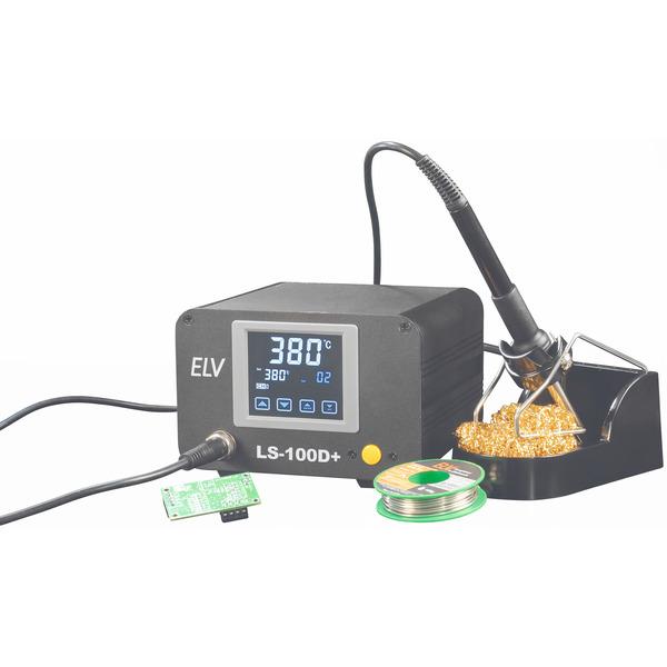 ELV Lötstation LS-100D+, 100 W, ESD-gerecht, mit Touchbedienung
