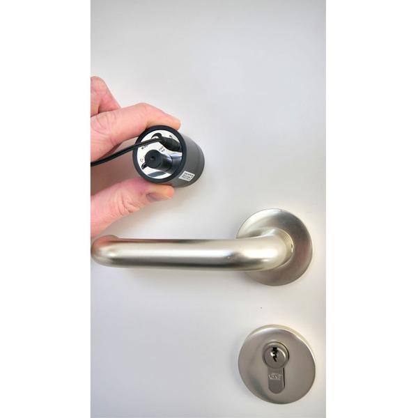 Kulig Security Mini-Stethoskop, zum Hören durch Türen und Wände