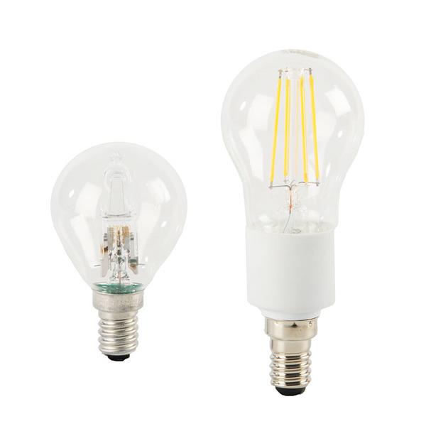 ELV FL BASIC DIM P40 4,5-W-Filament-LED-Tropfenlampe E14, warmweiß, dimmbar