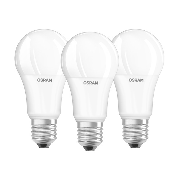 OSRAM LED PROMO 3er Set 14-W-Filament-LED-Lampe E27, warmweiß, matt