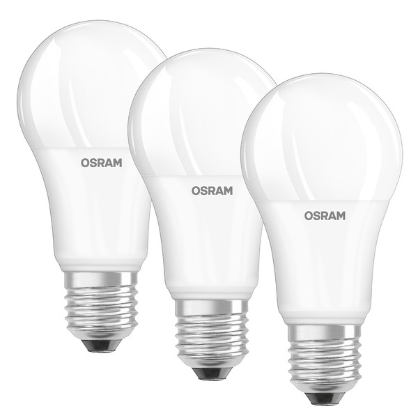 OSRAM 3er Set 13-W-Filament-LED-Lampe E27, neutralweiß, matt